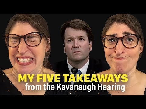 My Reaction to the Kavanaugh Hearings  Mayim Bialik