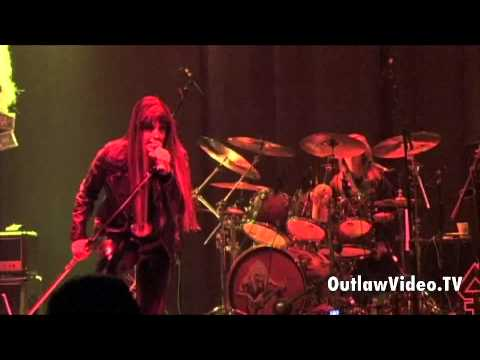 The Iron Maidens - Aces High LIVE - OutlawVideo.TV