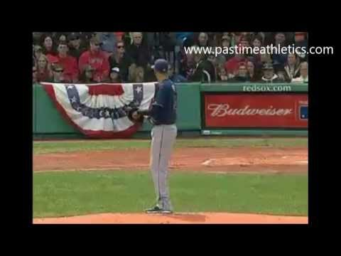 David Price Pitching Mechanics Slow Motion - Tampa Bay Rays Baseball MLB