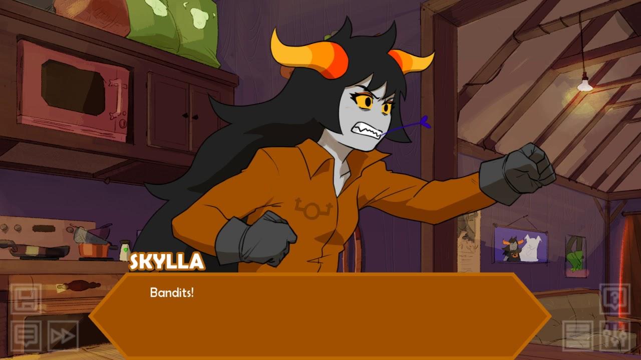 Konami Kode Plays Hiveswap Friendsim Part 5 Skylla Youtube