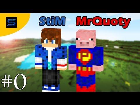 MrQuoty et StiM sur Minecraft #0 Vos choix pour cette série!