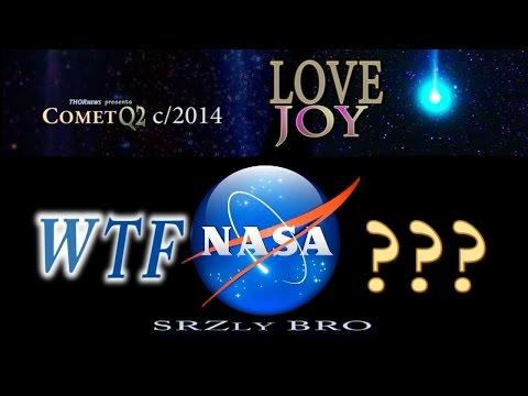 WTF NASA? Comet c/2014 Q2 LoveJoy Pt. 8...
