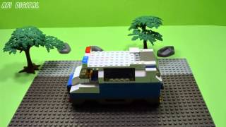 Lego Jubilux Police Car (intervention Vehicle To Social Events) How To Build? - Stop Motion