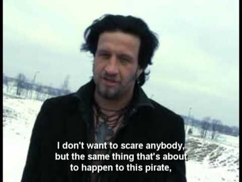 Kaspar Bindeman in Pirate Rocket-Ass Ad
