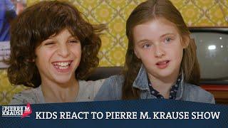 Kids react to Pierre M. Krause