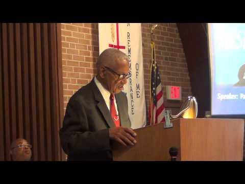 Elder Charles D. Brooks Sermon Entitled: I am God I Change Not. 10-11-14.