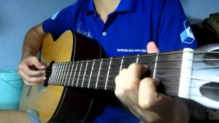 GIẤC MƠ TRƯA - Guitar cover by Trung Euro