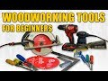 Beginner Woodworking Tools | Hand Tools & Power Tools | Woodworking for Beginners #31