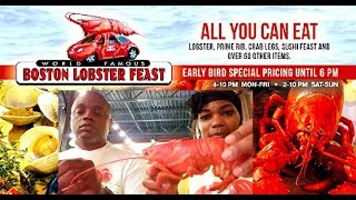 Boston Lobster Feast  MUKBANG!! | ALL YOU CAN EAT | Very Little Talking...