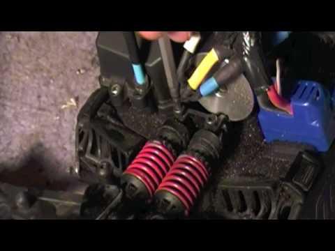how to: change you mini slash/e-revo shock oil