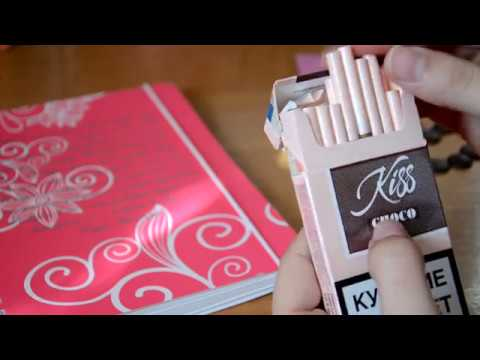 Обзор на сигареты Kiss choco