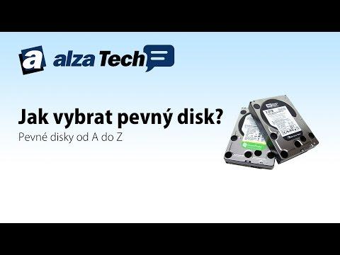 Jak se liší jednotlivé druhy pevných disků? - AlzaTech #247