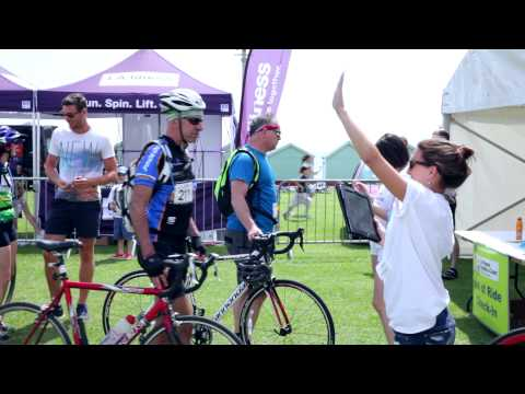 LA fitness Capital to Coast Cycle Challenge 2014