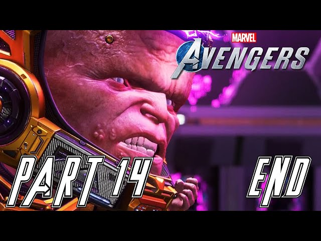 MARVEL'S AVENGERS  - Part 14 - Modok - ENDING [PC Ultrawide Gameplay] - No Commentary