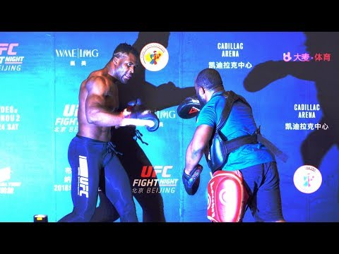 MMA: UFC Fight Night Beijing Holds Ultimate Media Day