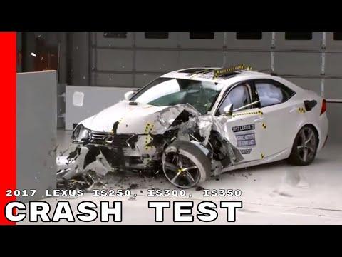 2017 Lexus IS250, IS300, IS350 Crash Test & Rating