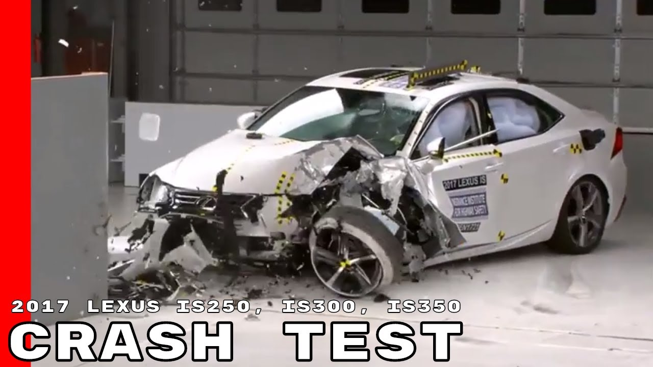 2017 Lexus Is250 Is300 Is350 Crash Test Rating