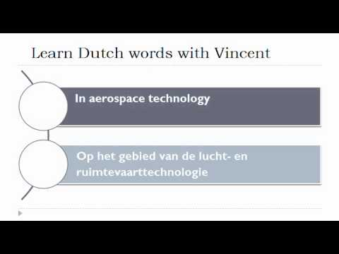 Learn Dutch words in 404 minutes