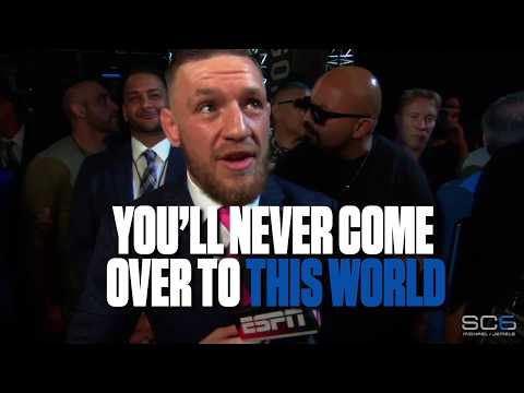 Download Youtube: McGregor  'I bounce heads off the canvas'