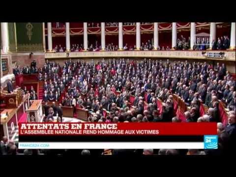 """""""La Marseillaise"""" entonnée par les députés à l'Assemblée nationale"""
