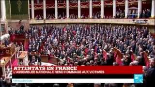 """""""La Marseillaise"""" entonnée par les députés à l"""