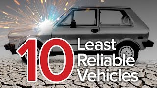 Top 10 Least Reliable Cars: The Short List