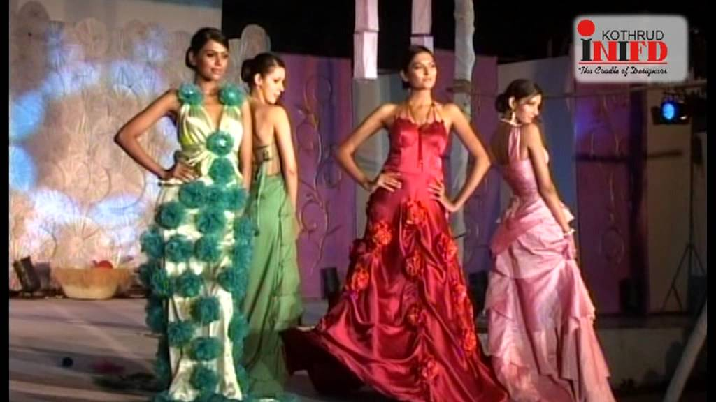Inifd Pune Kothrud Fashion Show 2009 Youtube