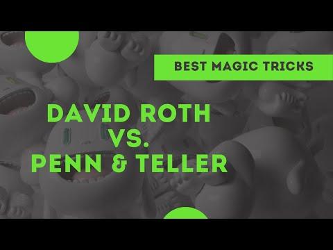 [Magic] David Roth vs. Penn and Teller