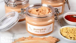 Pumpkin & Clay Face Mask