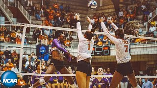 texas-v-albany-extended-first-round-ncaa-volleyball-highlights