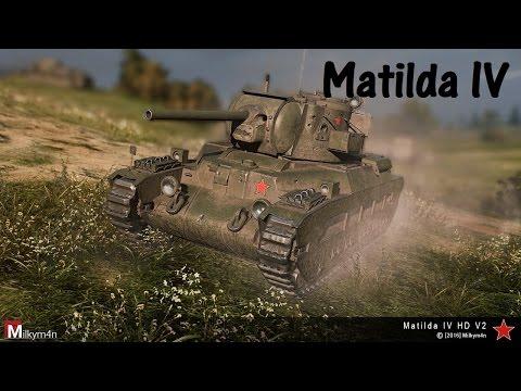 World of Tanks Replay - Matilda IV, 11 kills, 3,1k dmg, (M) Ace Tanker