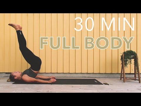 30 min full body workout no equipment  youtube