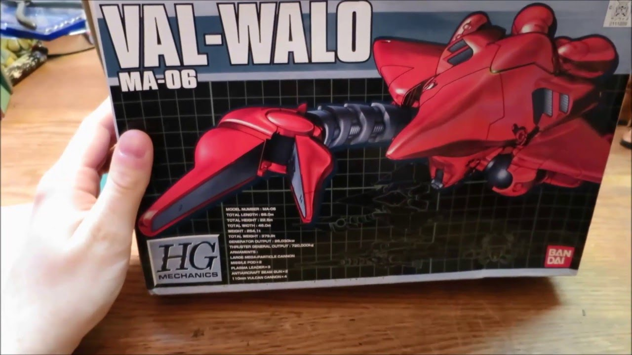 Hg Mechanics Val Walo Review Youtube Gundam Dendrobium Griffins Gunpla