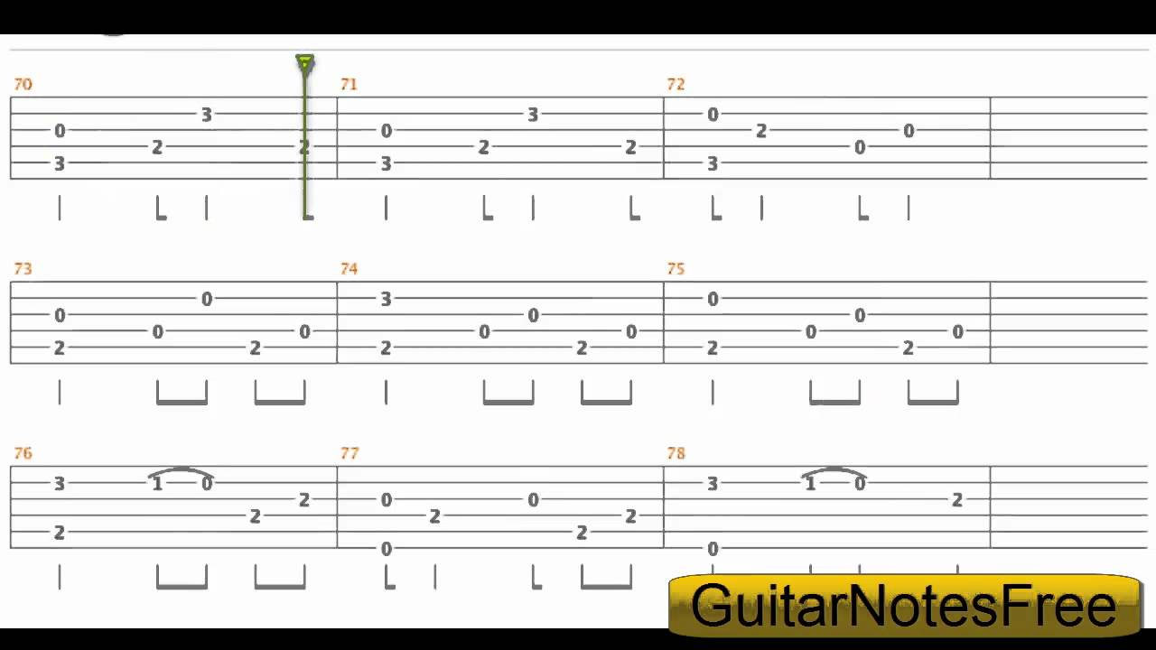 A Thousand Years - Sungha Jung Guitar Tab HD - YouTube
