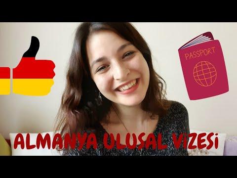 Almanya'dan Ulusal Vize Almak İçin Nelere İhtiyacınız Var? Güncel Bilgileri Tecr