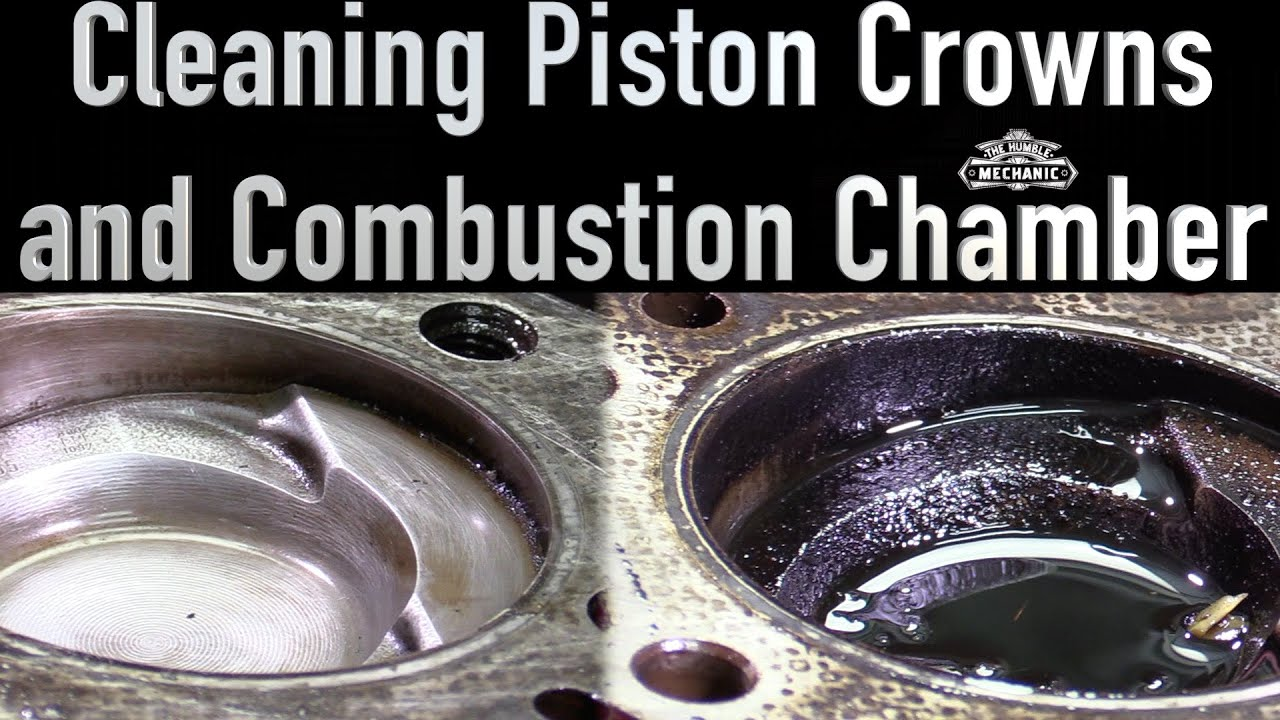 Removing Carbon From Piston Cylinder Walls And Block