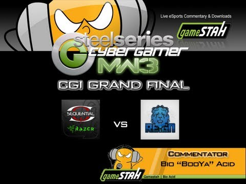 Xbox360 MW3 CGi Grand Final - Sequential Gaming Vs Reign