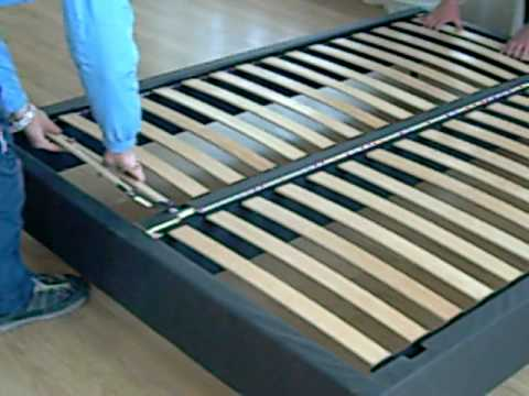 kd bed box spring in 3 minutes youtube. Black Bedroom Furniture Sets. Home Design Ideas