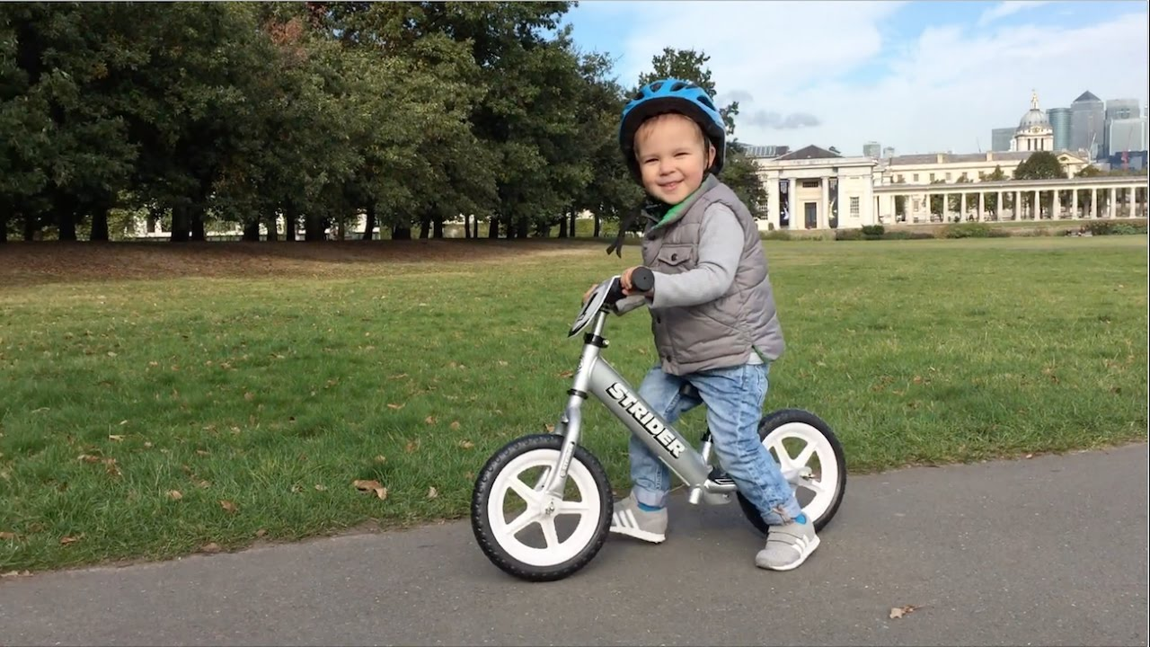 Balance Bike: STRIDER 12 PRO - YouTube