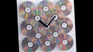 35 примеров поделки своими руками  из СД дисков ФОТО