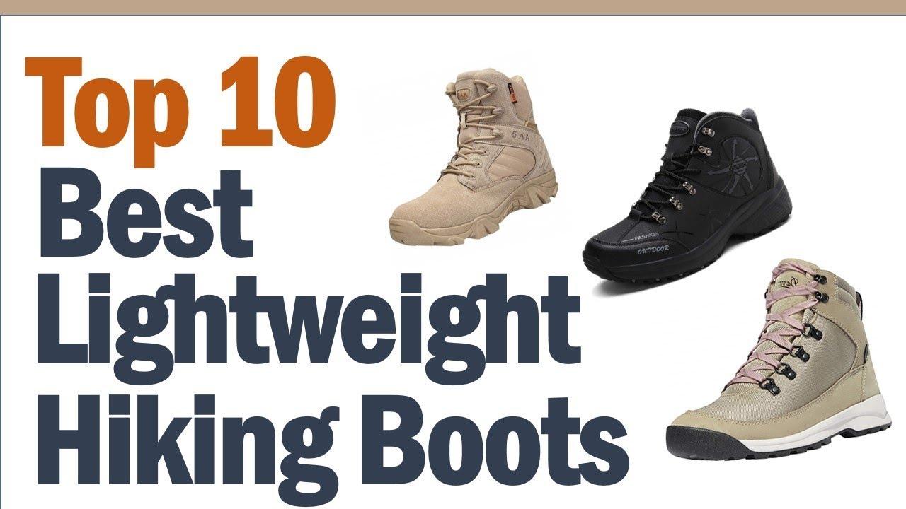 best lightweight hiking boots 2019