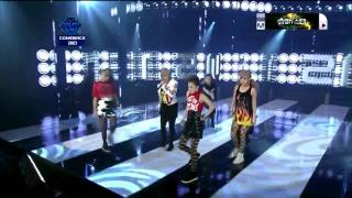 2NE1 - I Am The Best : ComeBack Stage (Aug,4,2011)