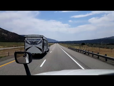 BigRigTravels LIVE! Richfield ,  Utah to... Interstate 70 and 15