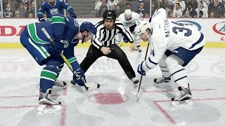 what if the leafs let matthews mature in the ahl nhl 17 simulation