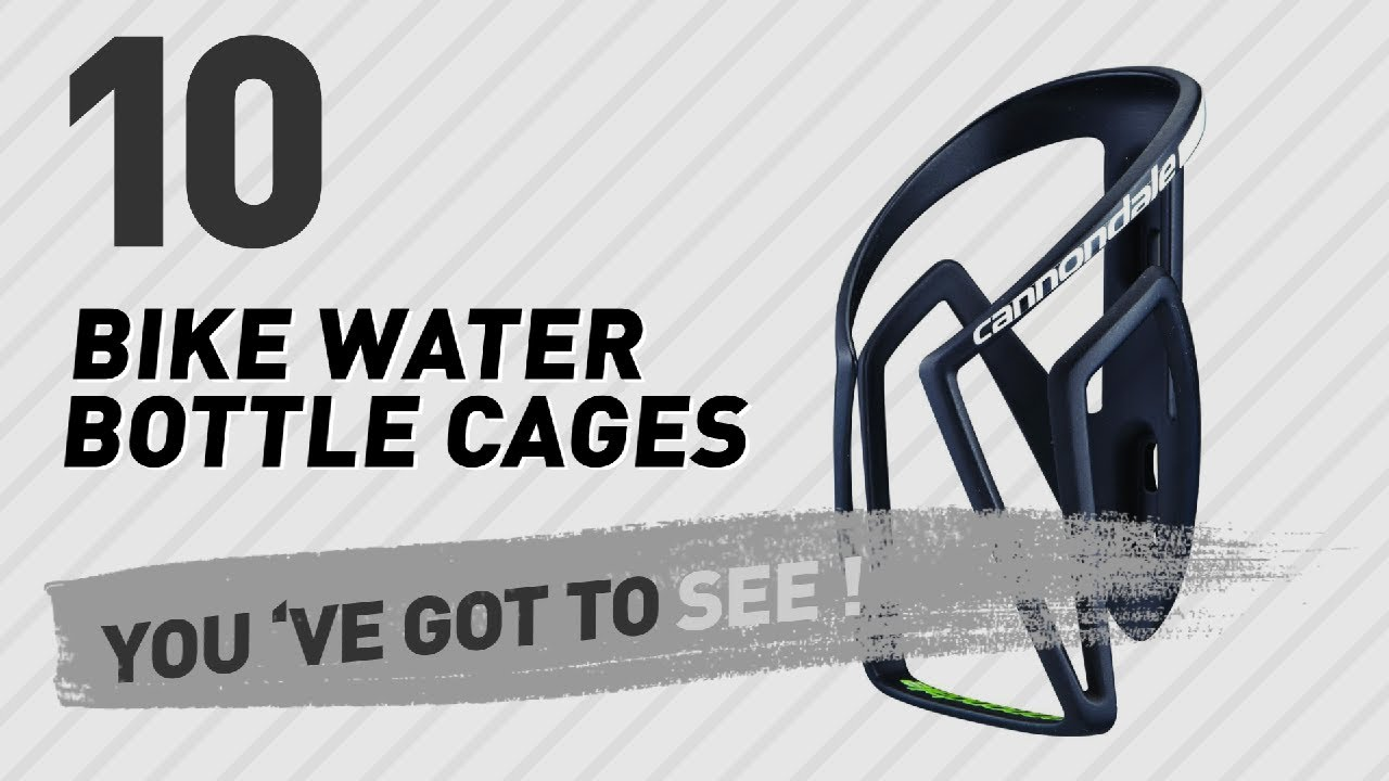 ccaa8ce4f4c Cannondale Bike Water Bottle Cages // New & Popular 2017 - YouTube