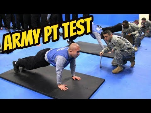 How to Prepare for Army Physical Fitness Test (APFT) | ARMY PT TEST