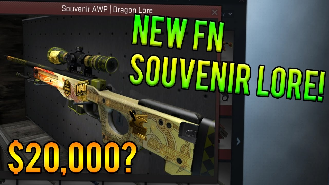 $20,000 FLAMIE LORE? Factory New Souvenir AWP Dragon Lore