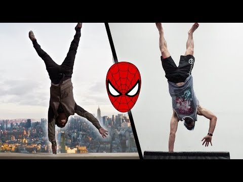 Doing Stunts From The Amazing SpiderMan In Real Life