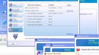 F-Secure Internet Security 2009 Review.  Part 4