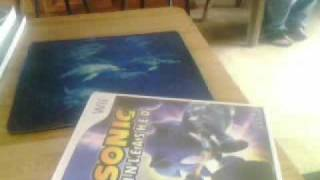 me opening my new sonic unleashed for the wii
